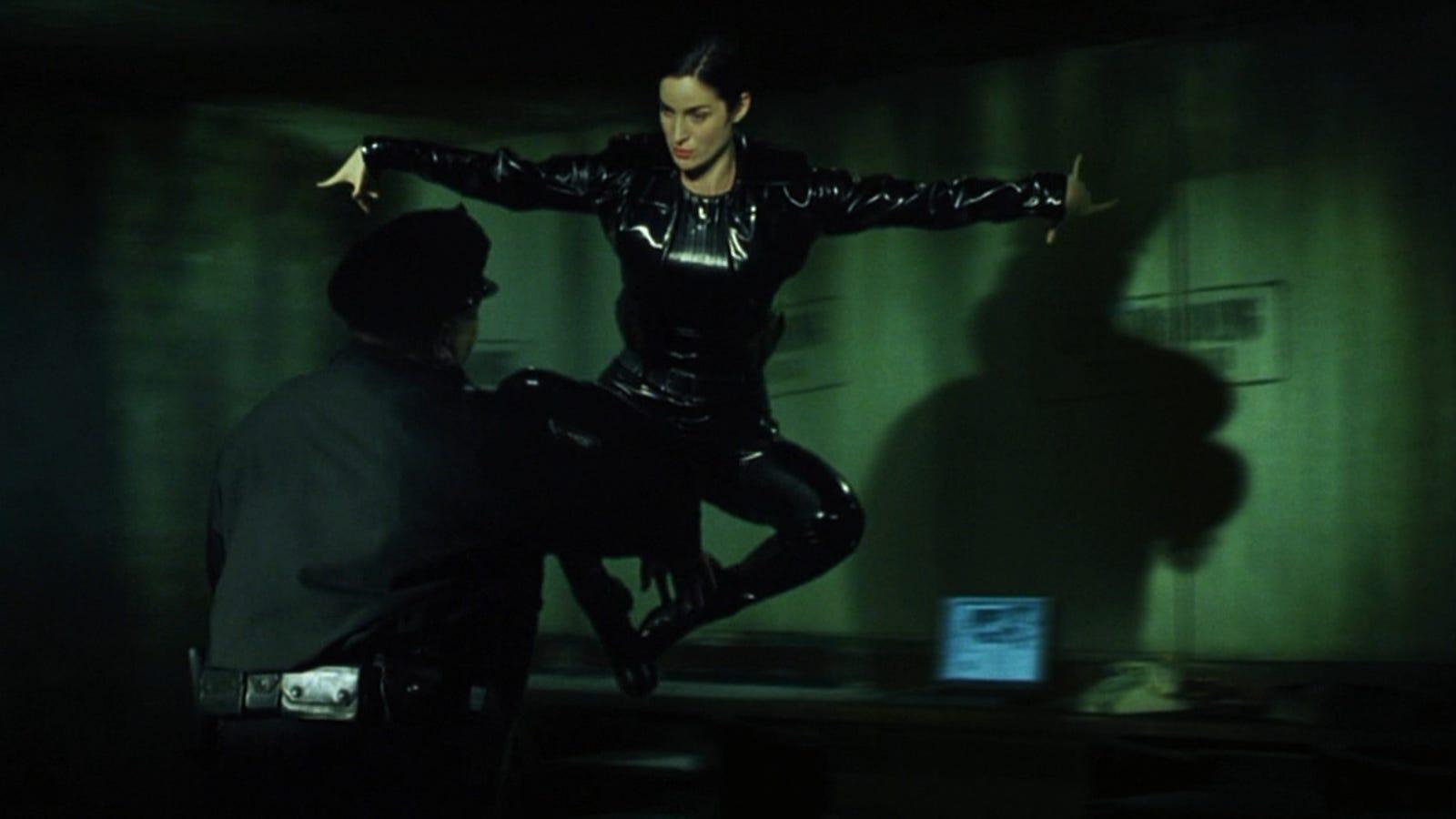 Salah satu adegan dalam film The Matrix