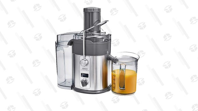 Make Any Kind of Juice You Want With 50% off a Crux Artisan Juicer