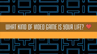 """Illustration for article titled Inane Internet Quiz Asks """"What Kind Of Video Game Is Your Life?"""""""