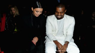 Kim Kardashian and Kanye West attend Paris Fashion Week in March.Pascal Le Segretain/Getty Images