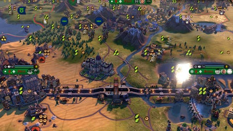 Everything In Civilization VI, Crammed Into One Real Map