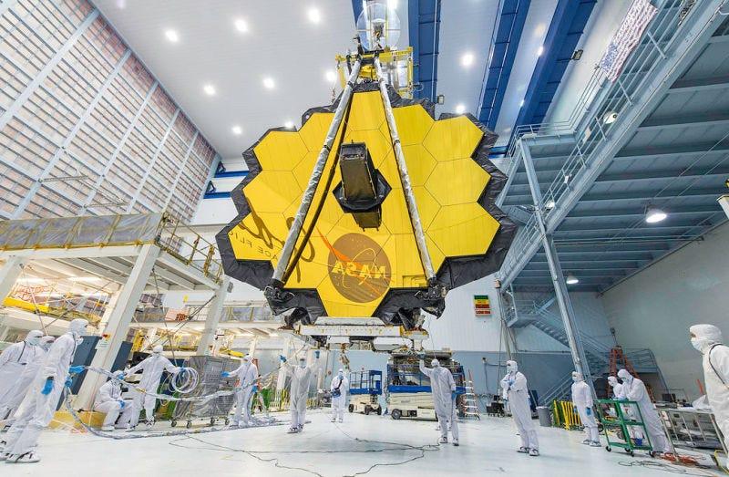 La NASA pospone el lanzamiento del telescopio destinado a sustituir al Hubble