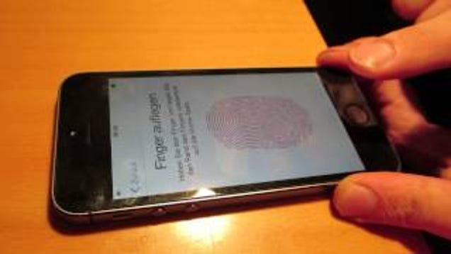 does the iphone 5 have touch id iphone 5s fingerprint security can be easily broken 5056