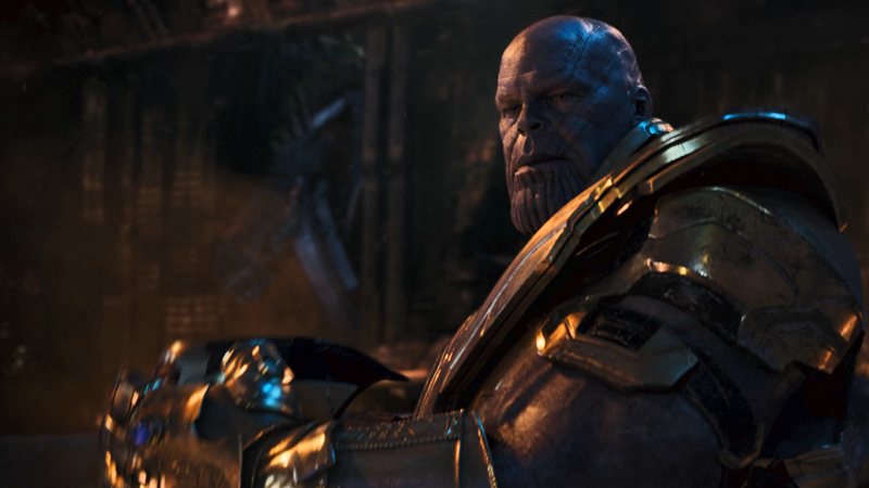 Thanos: Destroyer of worlds, thicc dad, and currently the most in-demand man in television.