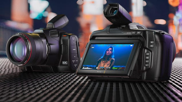 Blackmagic Announces Updated BMPCC 6K Pro Cam with New HDR Display