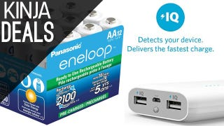 Illustration for article titled Today's Best Deals: Flash Storage, Portable Power, Eneloops, More