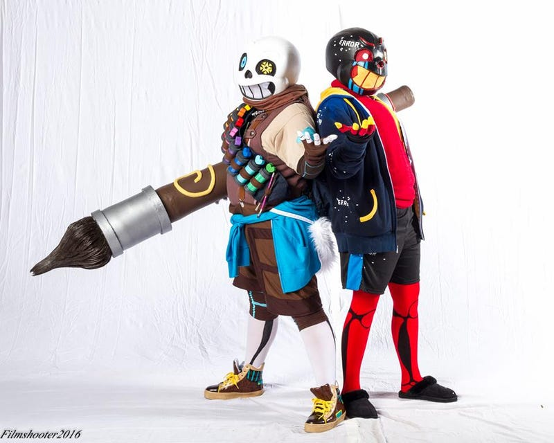 Illustration for article titled Undertale Cosplay Is Kind Of Like An HD Remake