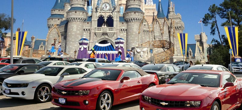 Illustration for article titled Why Is Chevrolet Sending Their Dealers To Disney?