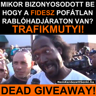 Illustration for article titled Trafikmutyi: DEAD GIVEAWAY!