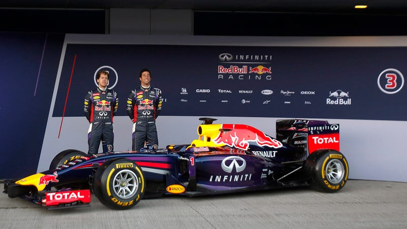 Illustration for article titled Will Red Bull's RB10 Win Every Race This Year?