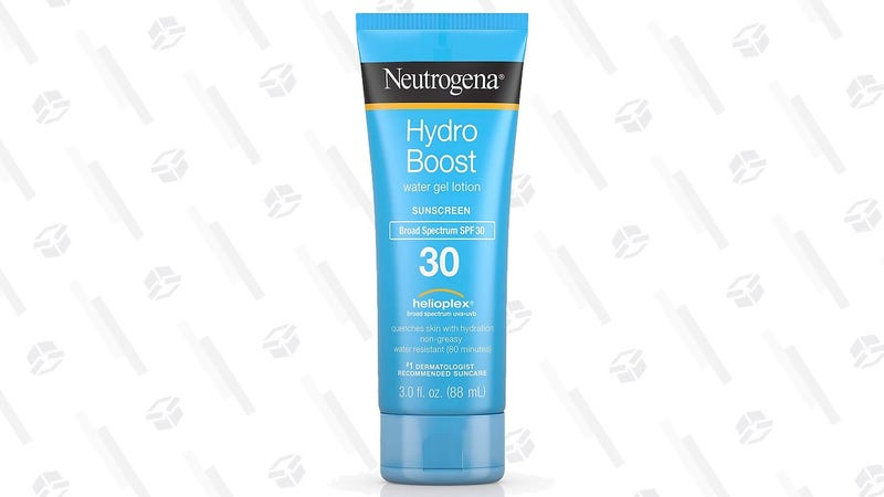 3-Pack Neutrogena Hydro Boost SPF 30 Sunscreen | $11 | Amazon | With Subscribe & Save and 30% coupon