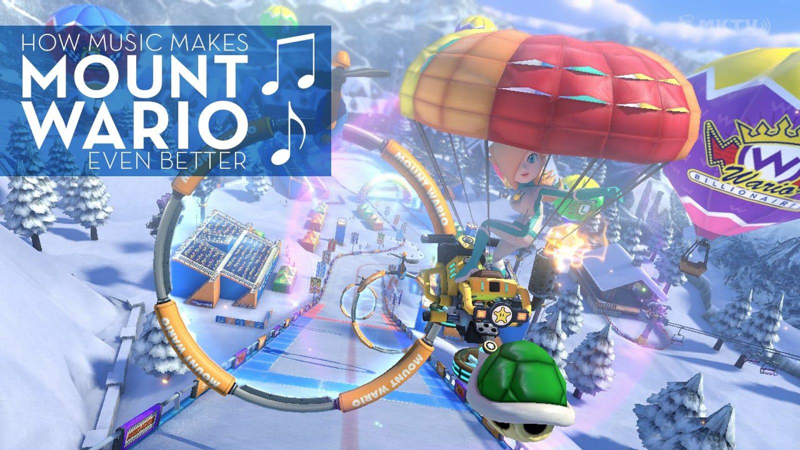 Music Makes Mario Kart 8's Best Level Even Better
