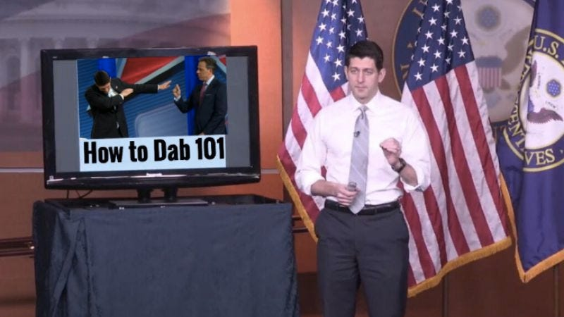 Illustration for article titled Paul Ryan tries PowerPoint to explain Trumpcare, gets roasted online