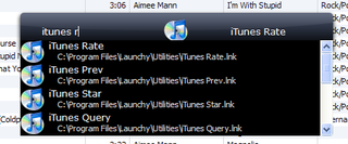 Illustration for article titled Control iTunes with Launchy