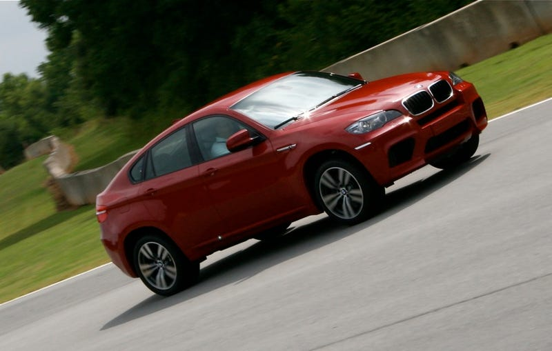 Illustration for article titled BMW X6 M: First Drive