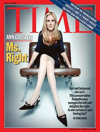 "Illustration for article titled Ann Coulter Proclaims Herself A ""Sick Joke."" But Is It All A Sick Joke??"