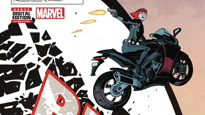 Illustration for article titled Exclusive Marvel preview: Waid and Samnee reunite for Black Widow #1