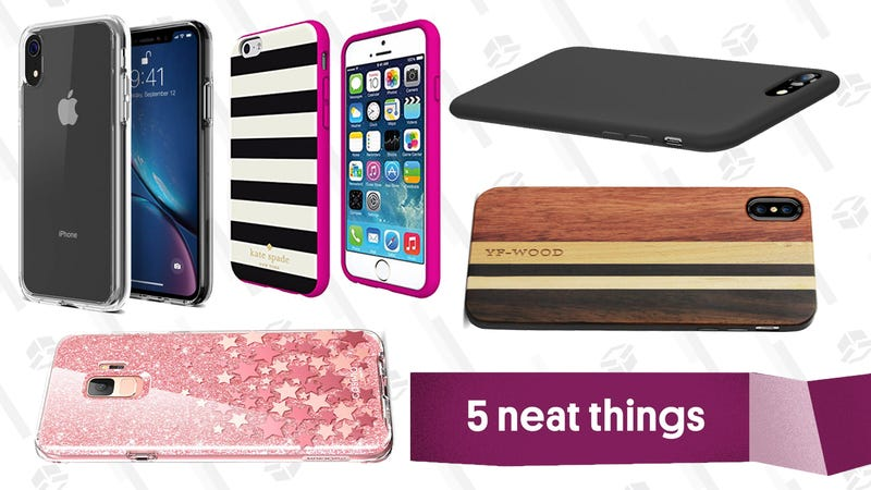 Illustration for article titled Need a New Phone Case? Here Are Five Easy-to-Clean Options.