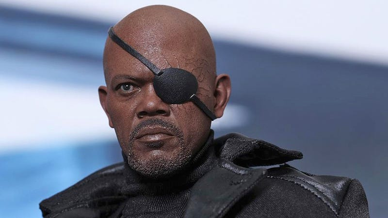 Illustration for article titled Hot Toys' Sixth-Scale Nick Fury Is One Bad Mother Figure