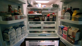 Illustration for article titled Dedicate a Shelf in Your Refrigerator to Items Near Expiration to Avoid Wasting Them