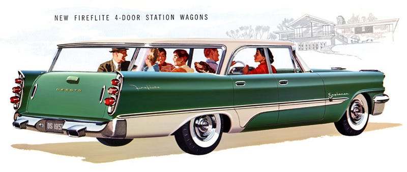 Illustration for article titled Hour rule: Desoto wagon