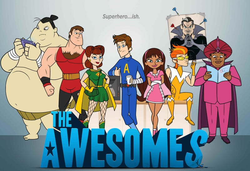Illustration for article titled Anybody watching The Awesomes?