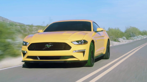 Here S The Sad New Face Of 2018 Ford Mustang