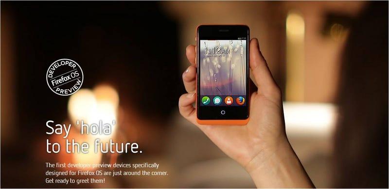 Illustration for article titled Los primeros móviles con Firefox OS para desarrolladores ya están aquí
