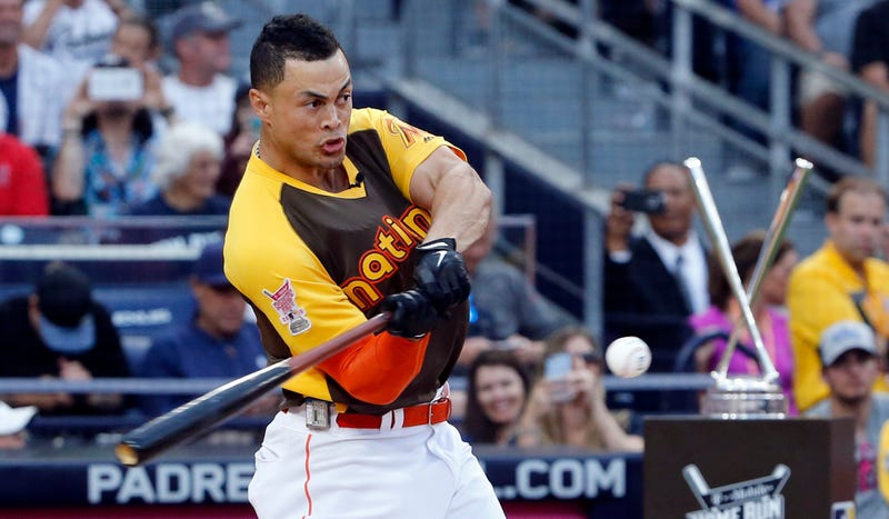 Illustration for article titled Giancarlo Stanton Stroked Some Mighty Dongs