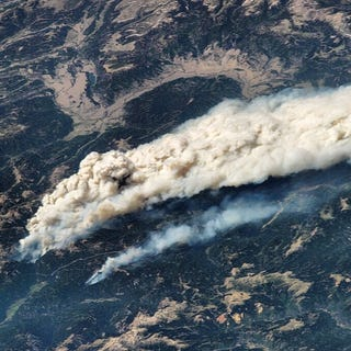 Illustration for article titled The Colorado wildfires as viewed from the ISS