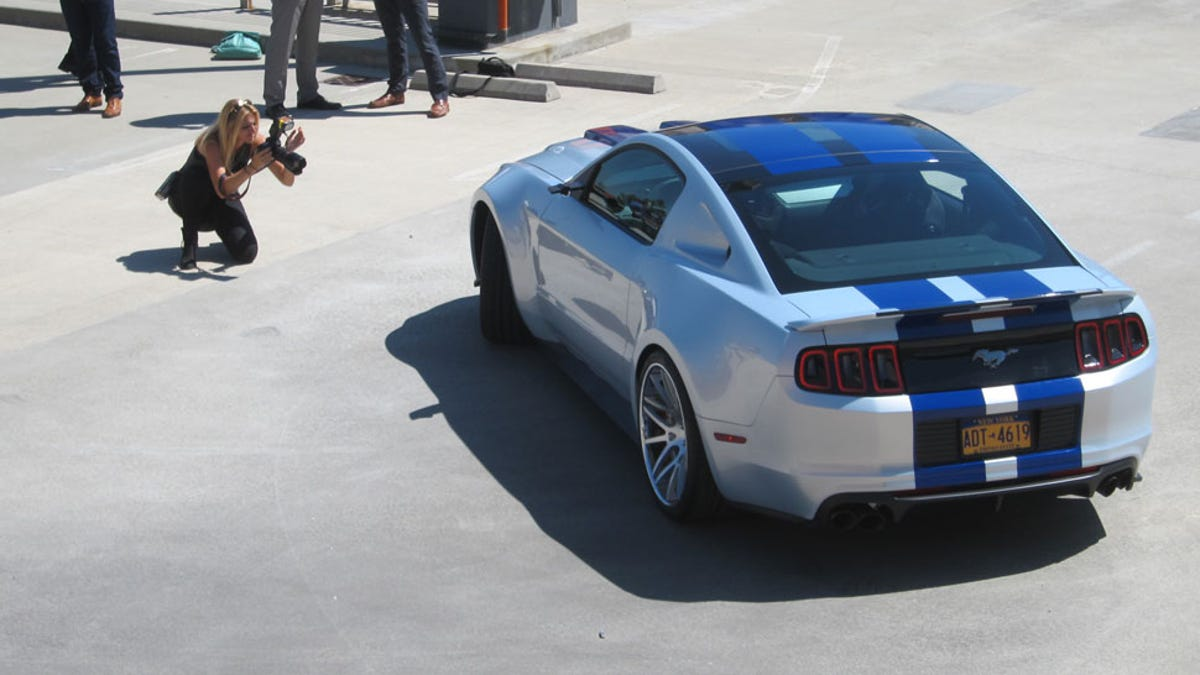 Need For Speeds Star 900 Horsepower Ford Mustang Is Totally Fake
