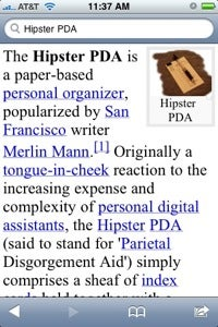 Illustration for article titled Wikipanion Brings Wikipedia to Your iPhone or iPod touch