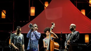 Dee Dee Bridgewater, Roy Hargrove, Esperanza Spalding and Troy Roberts perform on stage at the 2014 International Jazz Day concert on April 30, 2014, in Osaka, Japan.Keith Tsuji/Getty Images for Thelonious Monk Institute of Jazz