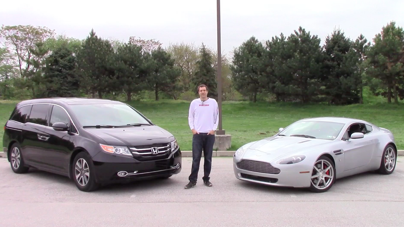Do you blow 45 000 on a used aston martin or a new honda for Martin honda used cars