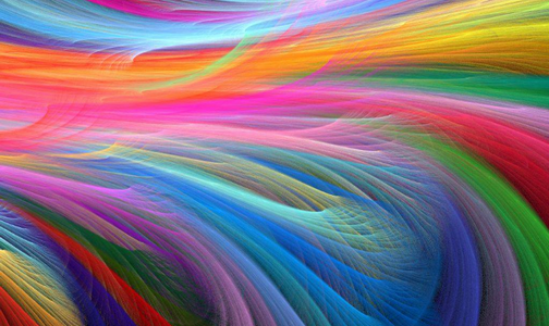 colour spectrum abstract background - photo #13