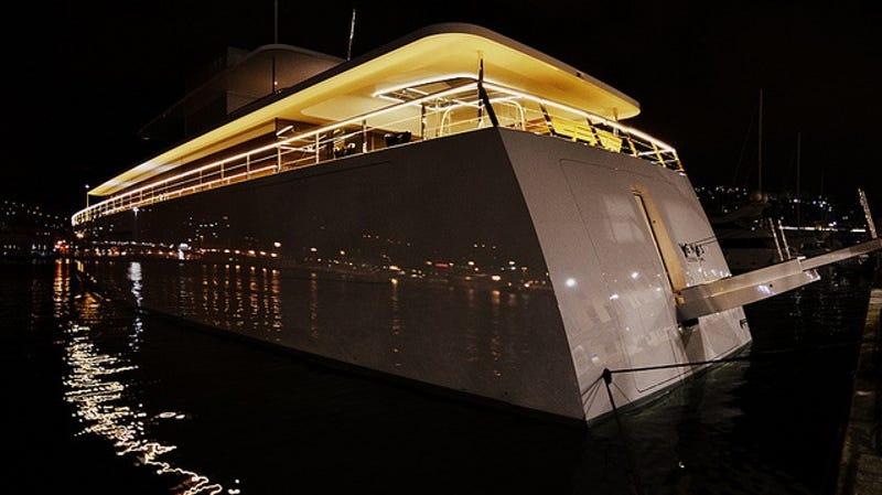 First Peek Into Steve Jobs Luxury Yacht Interior