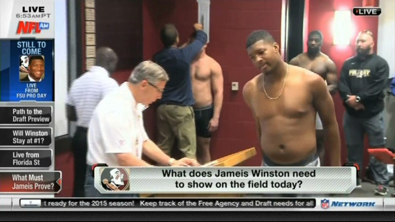 Illustration for article titled Jameis Winston Fat?