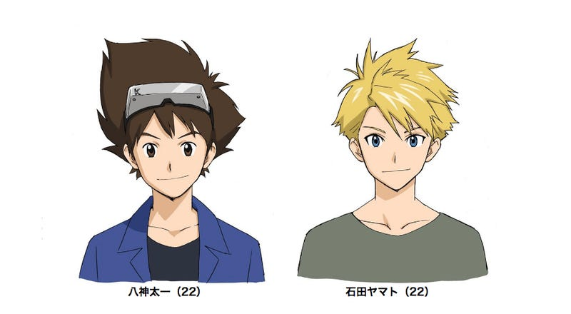 Illustration for article titled Unlike in Pokémon, Digimon Humans Keep Aging
