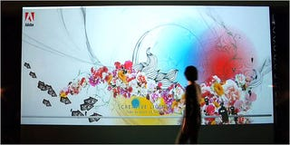 Illustration for article titled Adobe Pimps Creative Suite 3 With Interactive Wall in Union Square