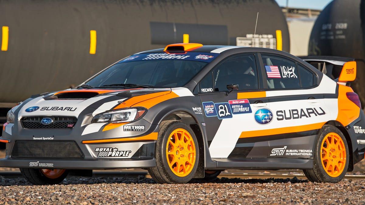 Subaru\'s New 2015 Rallycross Car Is Impossibly Fast