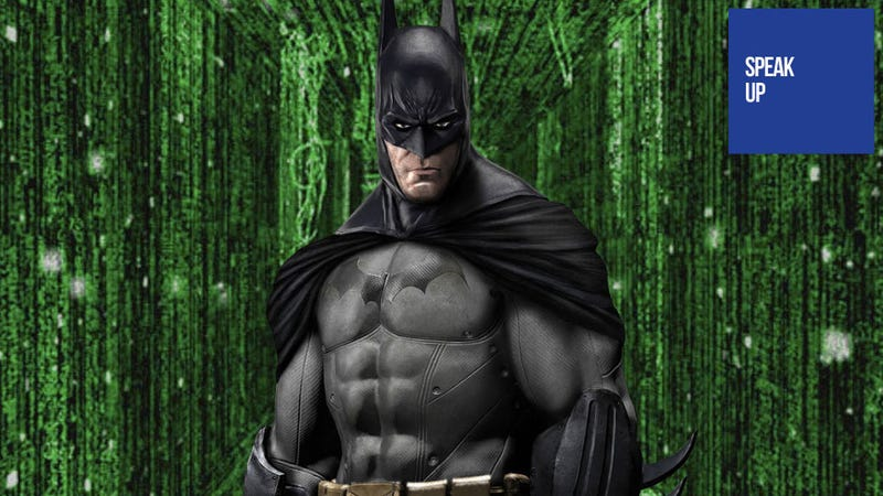 Illustration for article titled Batman: Arkham City's Creators Would Make a Lovely Matrix Game, Wouldn't They?