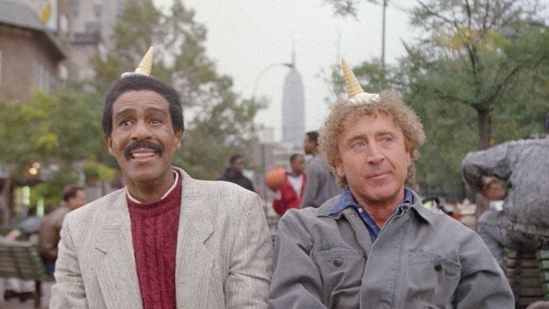 Richard Pryor and Gene Wilder in See No Evil, Hear No Evil (Image: screencap)