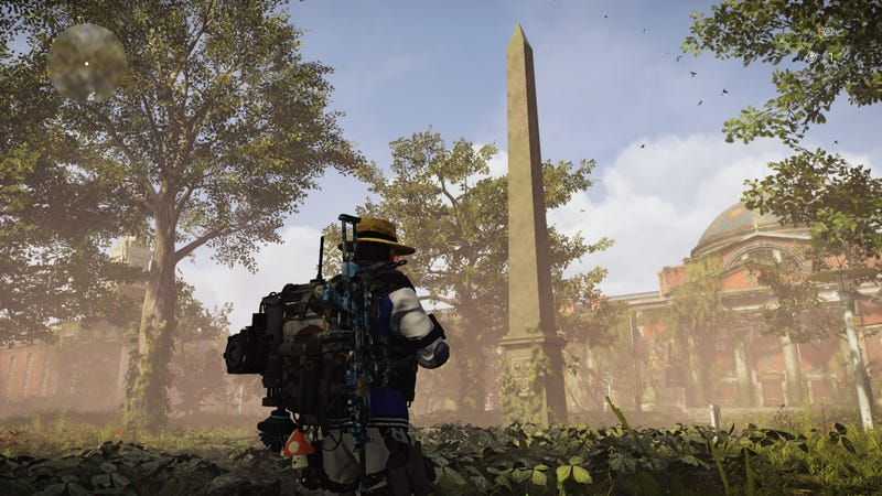 A Hard-Hitting Investigation Into Whether Two Statues In The Division 2 Appear To Be Having Sex