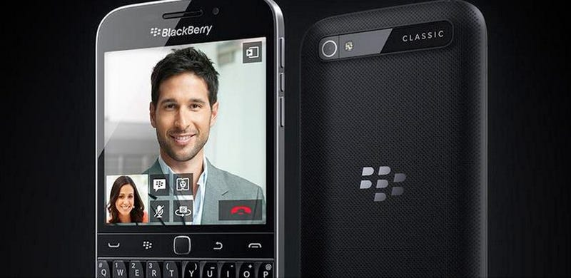 Illustration for article titled BlackBerry vuelve al pasado con Classic, su último smartphone