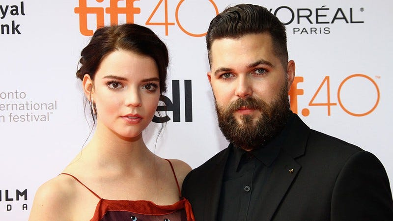 Taylor-Joy and Eggers at the TIFF premiere of The Witch. (Photo: Jeremy Chan / Getty Images)