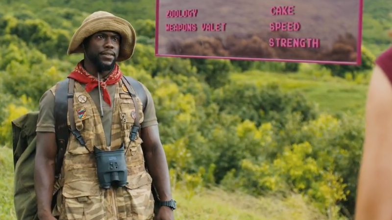 Jumanji: Something Very Bad Happens to Kevin Hart in the New Trailer