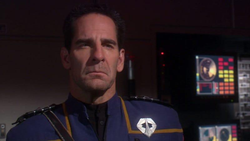 "Illustration for article titled Overthinking the Star Trek: Enterprise Episode ""In a Mirror, Darkly"""