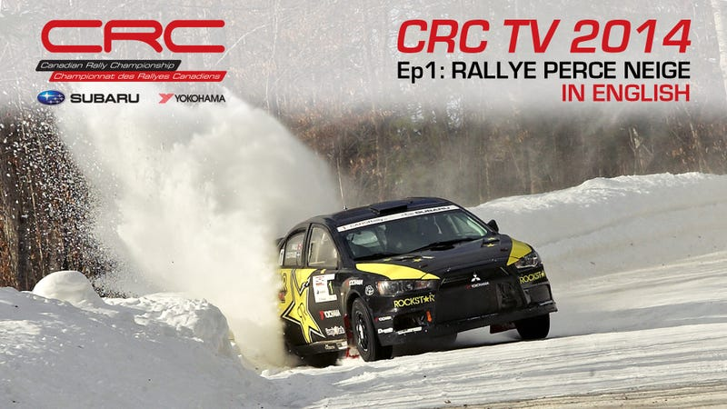 Illustration for article titled CRC TV: Full episode of 2014 Canadian Rally Championship