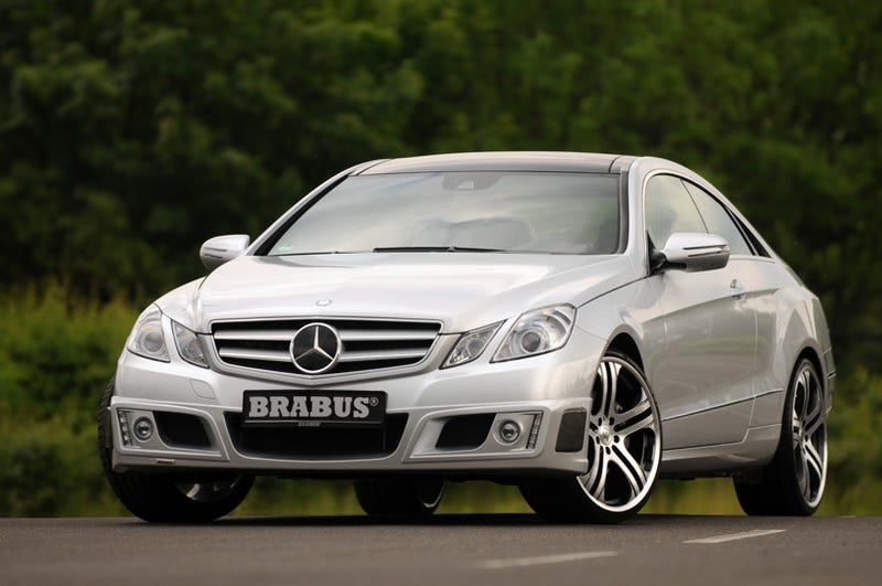 Illustration for article titled BRABUS Mercedes E-Class Coupe: 462 HP, 196 MPH And More Bruce!