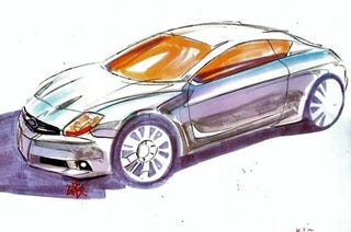 Illustration for article titled New Subieyota FT-86 Sketches Emerge